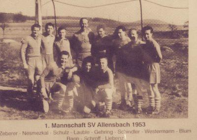 1.Mannschaft 1953