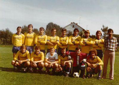 1.Mannschaft Ende der 80er